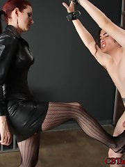 Mistress Liliane decides that slave dirt needs to prove his worthiness.