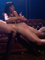 Beauteous dominatrix locks slaveboy addition moment an parade of purity devices further sexually frustrates him to the fullest extent