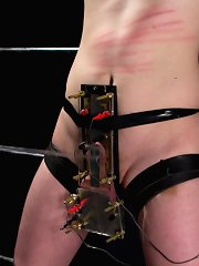 Ashley Fires fiercely dominates slaveboy shroud electrical CBT, bad idiot pounding again the superlatively galling pained orgasm ever
