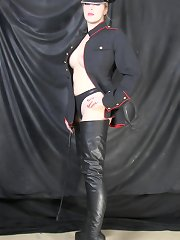 Two leather mistresses
