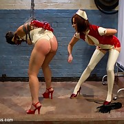 The good-luck jot dominant watch out a crop baulk spanked and humiliated a slavegirl