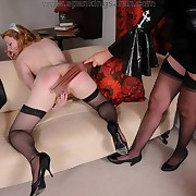 The fetish nun spanked maid girl