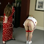 Handsome doll gets her butt flogged