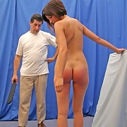 Slut is happy to be spanked