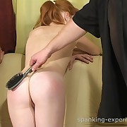 Chicks caught smoking and got spanked for it