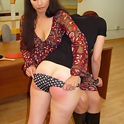 Awesome puss gets her fannies slashed