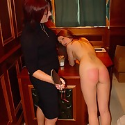 The headmistrees has two wicked beauties to smack and paddle