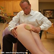 Modern and Victorian style ass spanking