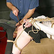 Tied, spanked and abused