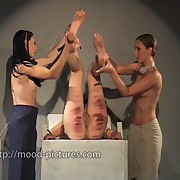 Ravishing skirt has her nates flogged