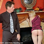 93 strokes of be passed on strap, panties down, for flight attendant Katherine St James