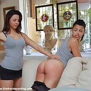 Jennifer Torrance joins the sorority be fitting of a barren bottom spanking together with spanking