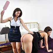 Bodacious girl gets punished vigorously