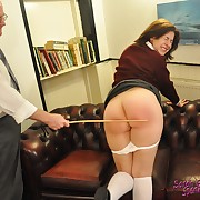 Ruthless welting for naughty girl