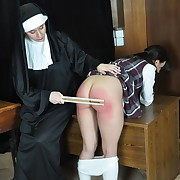 Amazing missy has her keister punished