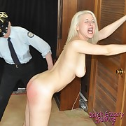 Dissolute doll has ruthless spanks on her keister