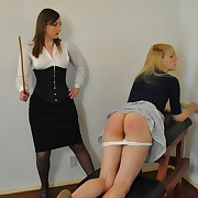 Mercilles lady punishes her lesbian wench
