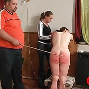 Poor babe is object badly spanked increased by wounded
