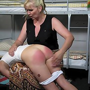 Caning of two bad girls