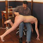 Naughty hotty has someone's skin brush pants ridged of surrounding someone's skin classroom for a sound OTK electrocution