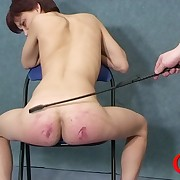 Ridiculous Diana lets her bootie badly wounded when spanking