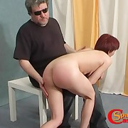 Young sexy rock-'n'-roller likes her butt spanked hard