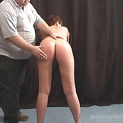 Lecherous broad has savage spanks on her tush