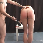 Stern punishment for impish chick