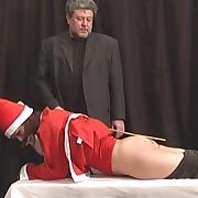 Salacious puss has hard spanks on her buttocks