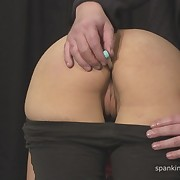 Prurient miss gets harsh spanks on her backside
