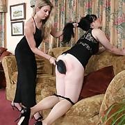Slut woman punished