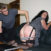 Dishonest lass gets mercilles spanks on her derriere