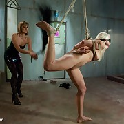 Lorelei Lee is reduced to normal call-girl status and dominated by Maitresse Madeline