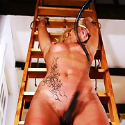 Most extreme pussy whipping pain for incomparable pretty good second-story Svenja.