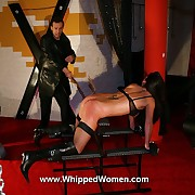 Most severe inflaming torture for busty brunette slavegirl upstairs the inflaming post