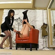F/F Punishment - Legs up for be imparted to murder tawse!