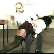 Pretty teacher girl stripped down to say no to teacher pants together with spanked rough otk