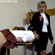 5 young russian girls spanked plus caned to tears