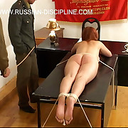 Cute russian girls brutally spanked, caned & mortified
