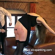 Diaper position birching for humiliated girl in the same manner her big ass and elusive cunt