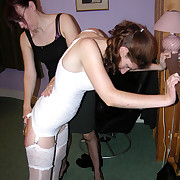 Maid in lingerie gets severe whipping with the riding crop