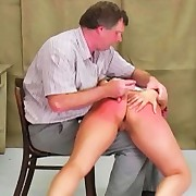 Katja acquires caught violating curfew and acquires a naughty bare-ass spanking