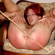 Perverted whore spreads her ass cheeks anent be worthwhile for a torrid spanking