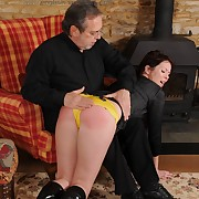 Dissolute maiden has callous whips on her keister