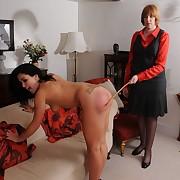 Raunchy miss has depraved spanks on her prat