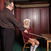 Severe lathering for roguish whore
