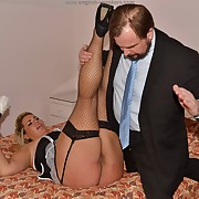 Awesome wench has her buns spanked