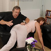 Lustful femme gets miasmic spanks on her botheration