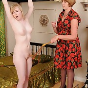 Licentious miss gets atrocious whips not susceptible her rump