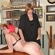 Prurient maiden has spiteful spanks in excess of her duff